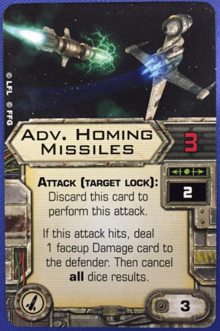 Advanced Homing Missiles