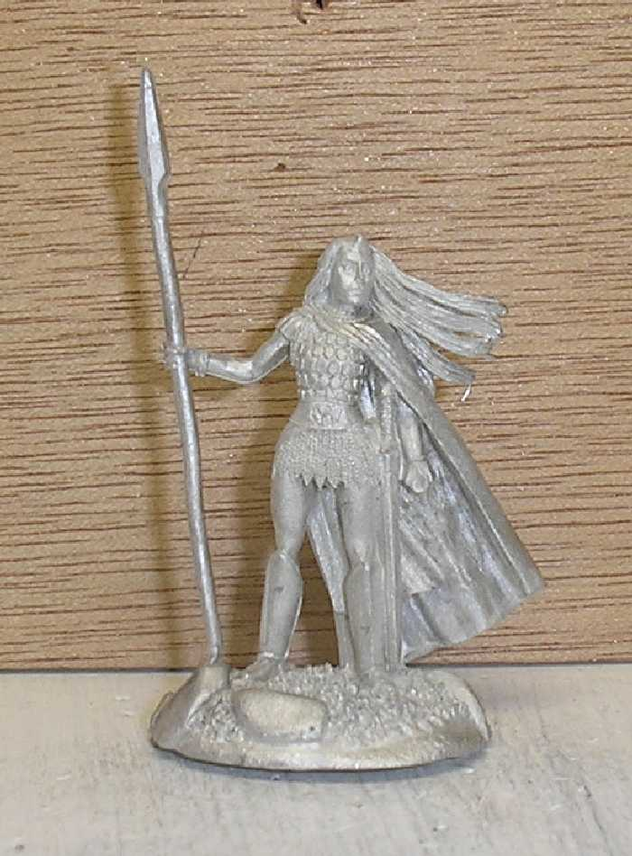 Female Noble Fighter w/Spear