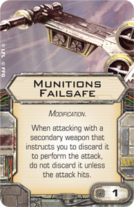 Munitions Failsafe