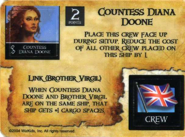 Countess Diana Doone/explorer