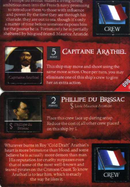 Capitaine Arathilel/Phillipe Du Brissac