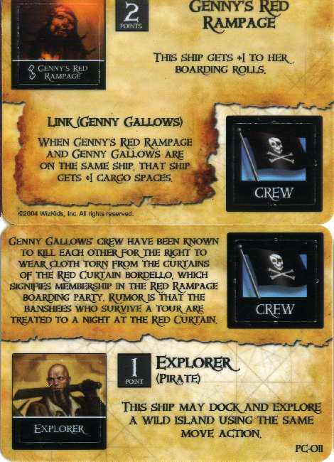 Genny's Red Rampage/Explorer