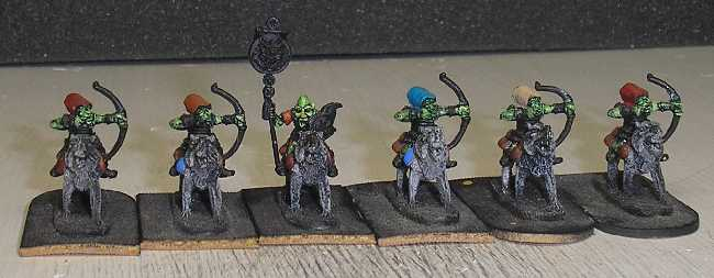 Goblin Mounted Archers