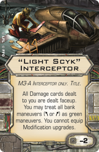"""Light Scyk"" Interceptor"